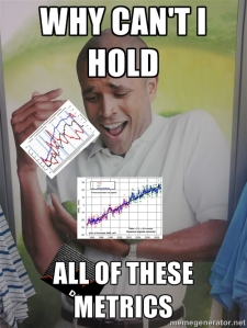 Why can't I hold all of these metrics